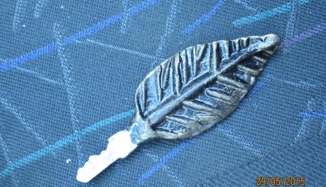 Ключ с кованой ручкой