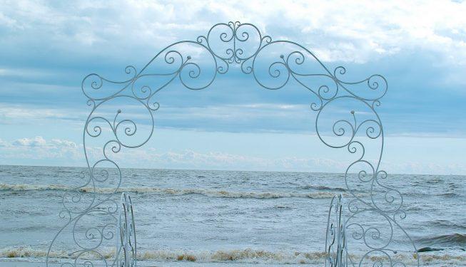 Разборная свадебная арка